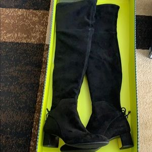 Tory Burch Laila 45MM Over The Knee Boot Size 10.5